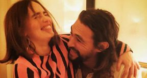 Game of Thrones: Jason Momoa & Emilia Clarke Reunite on Instagram