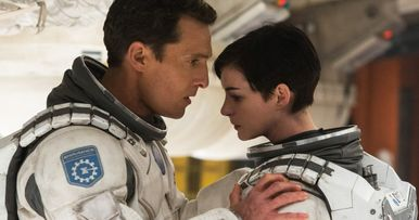 Interstellar Returns to IMAX with New BTS Footage