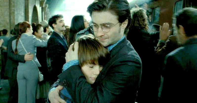 Harry Potter's Son Started His First Day at Hogwarts Today