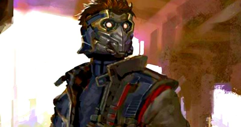 What Star-Lord Almost Looked Like in Guardians of the Galaxy