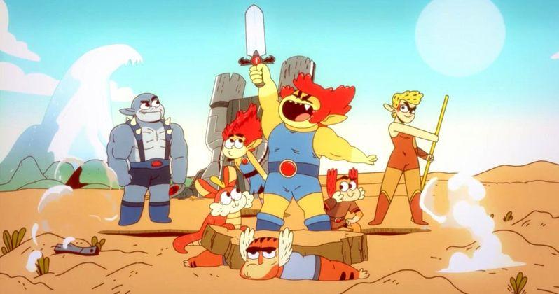 ThunderCats Roar First Look, Reboot Debuts on Cartoon Network in 2019