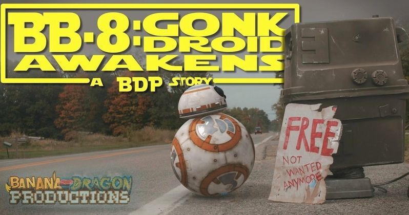 BB-8 and Gonk Droid Team Up in Heartbreaking Star Wars Fan Film