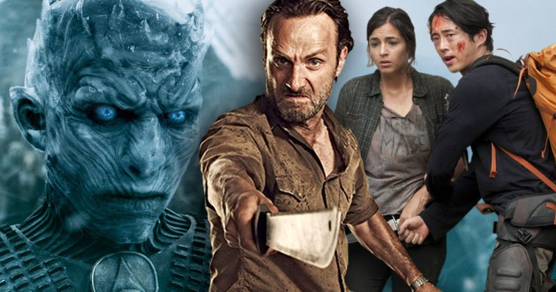 Game of Thrones & Walking Dead Are 2016's Most Pirated TV Shows