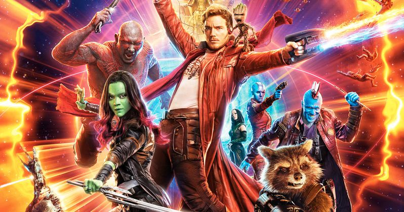 Guardians of the Galaxy Vol. 2 Gets an Awesome 80s Style Poster