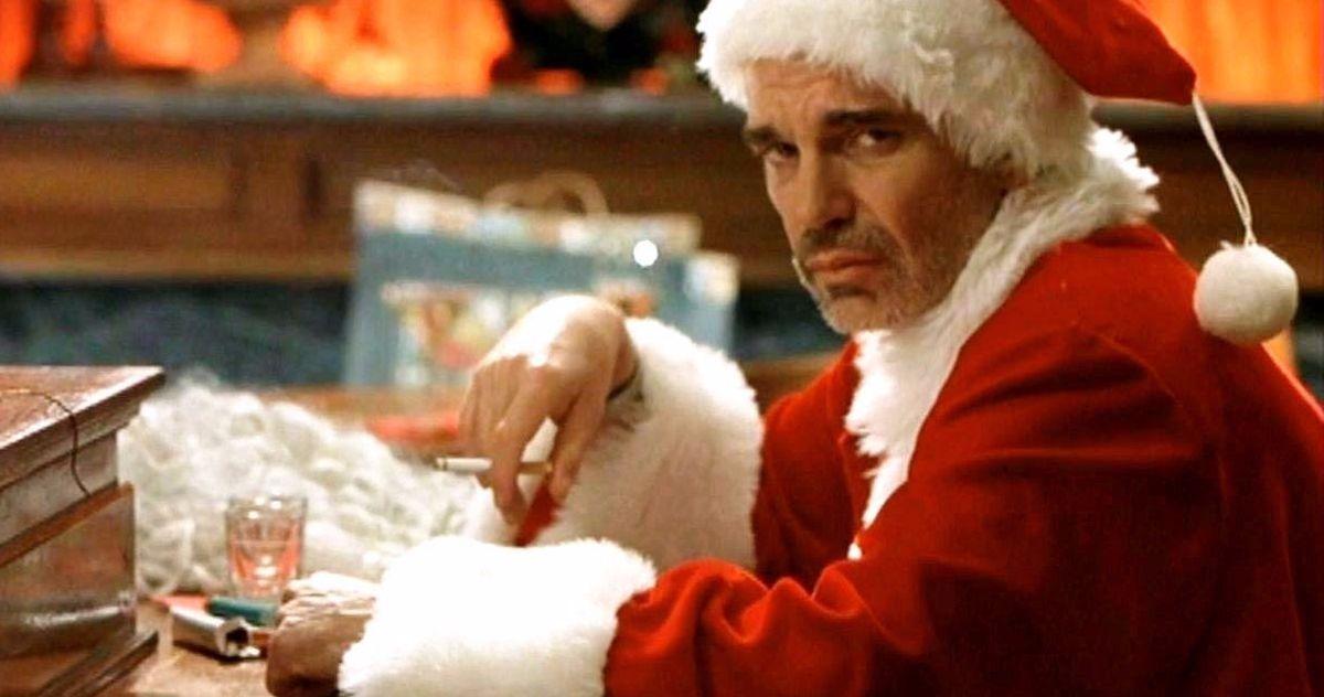Billy Bob Thornton Admits He Was Really Drunk Shooting Bad Santa Mall Scene