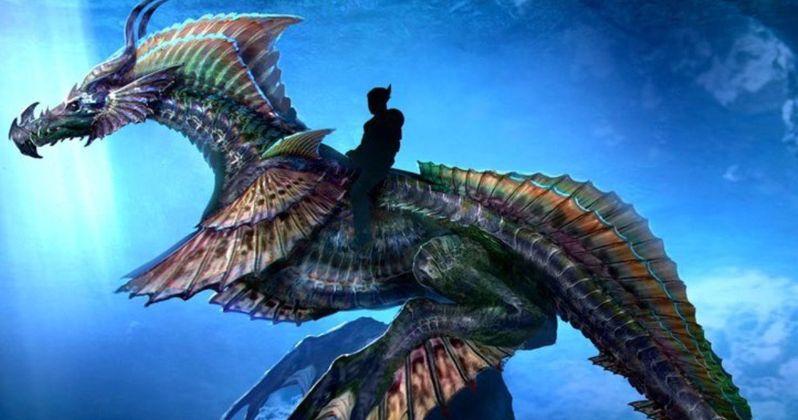 New Aquaman Image Shows Off a Gigantic Sea Dragon
