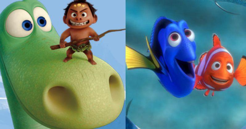Pixar's John Lasseter on Good Dinosaur & Finding Dory