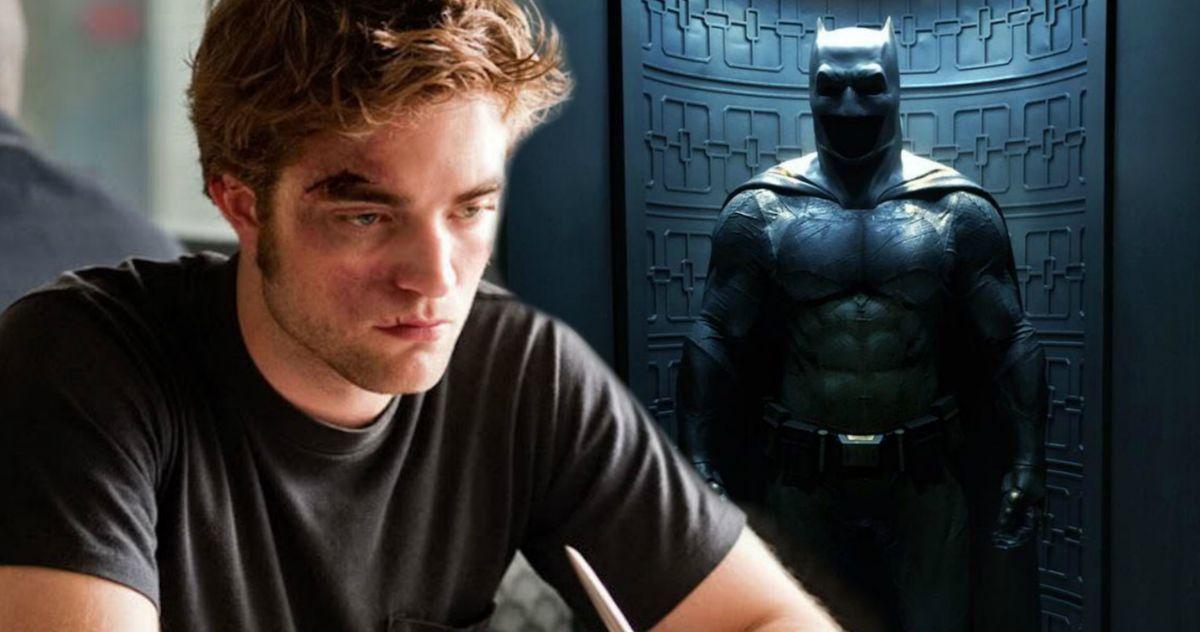 The Batman First Look at Robert Pattinson On Set?