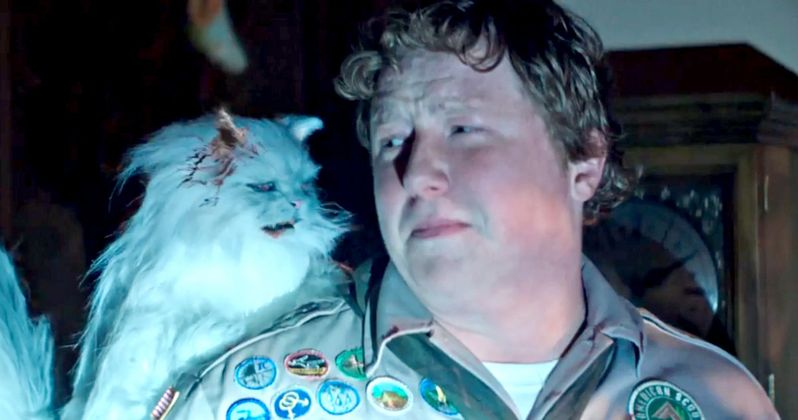 Scout's Guide to the Zombie Apocalypse Clip Unleashes Killer Cats