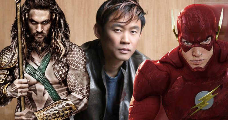 Why Is James Wan Directing Aquaman Instead of The Flash?