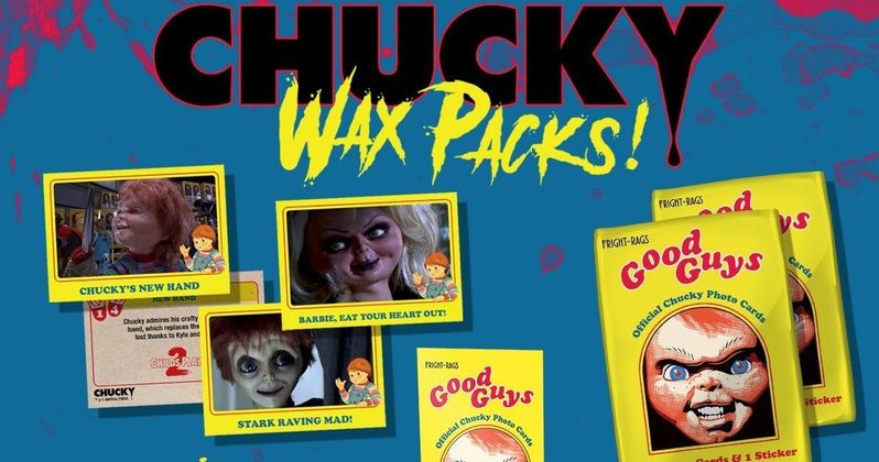 Even Chucky Would Kill for These Retro Child's Play Trading Cards