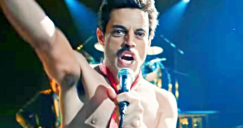 Bohemian Rhapsody Preview Shows Rami Malek Transforming Into Freddie Mercury