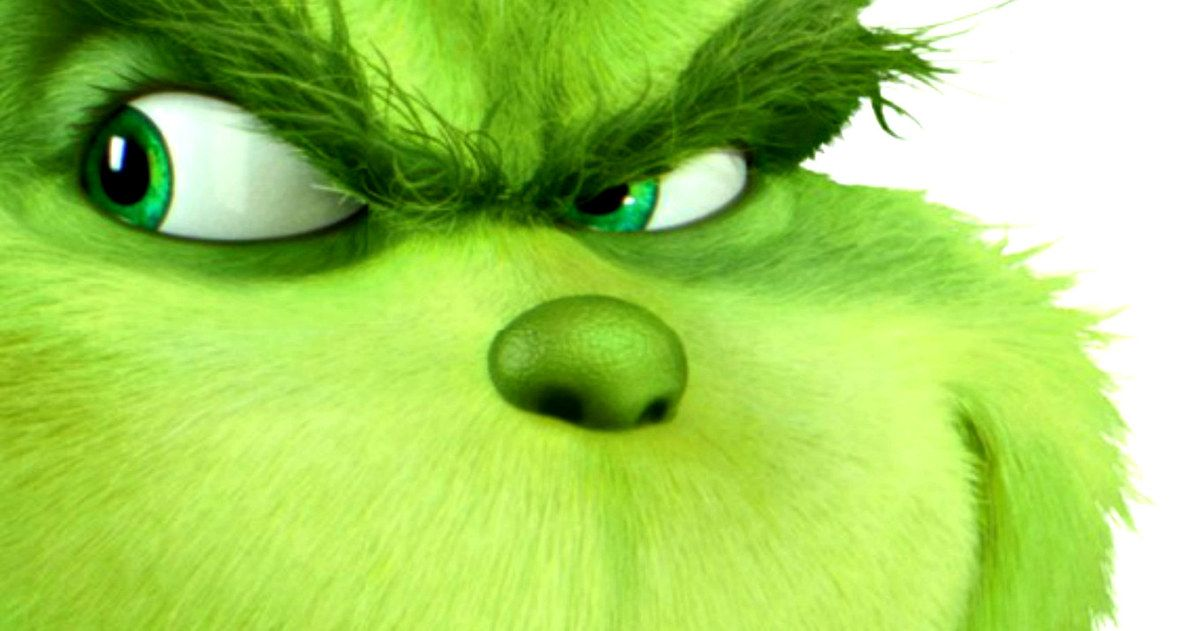 First Look at Benedict Cumberbatch\'s The Grinch