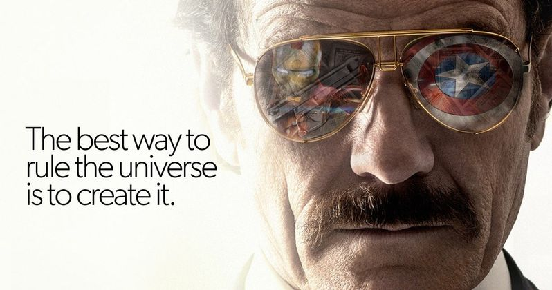 Here's What a Stan Lee Biopic Starring Bryan Cranston Looks Like