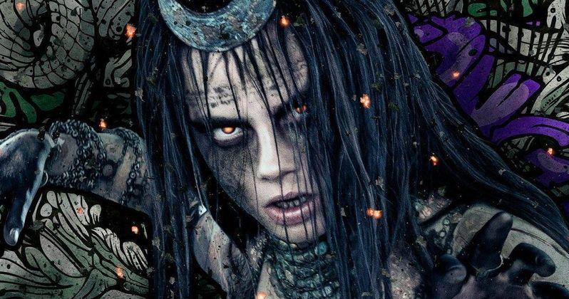 Cara Delevingne's Enchantress Transforms in First Suicide Squad Clip
