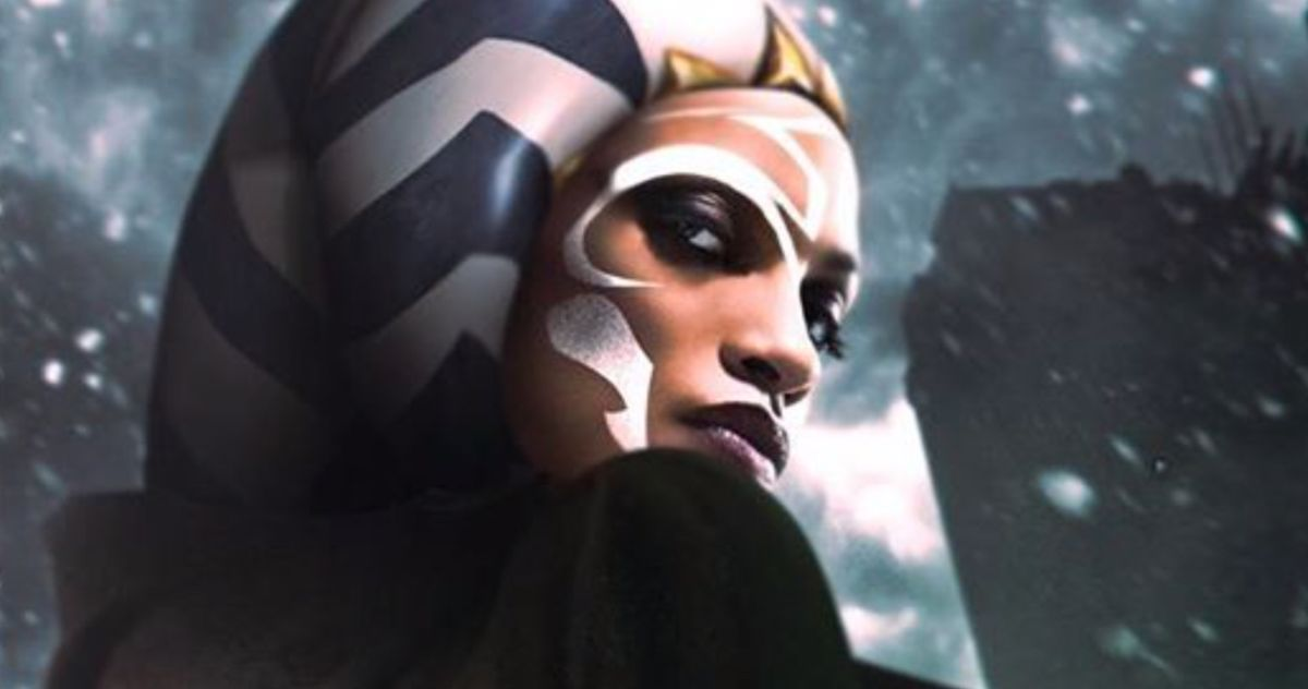 Rosario Dawson Looks Perfect as Ahsoka Tano in The Mandalorian Season 2 Fan Art