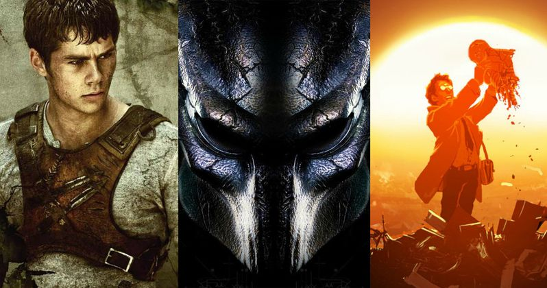 Predator 4, Maze Runner 3 & Battle Angel Are Coming to IMAX