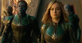 Captain Marvel TV Spot: Carol Danvers Is Born Free in Latest Footage