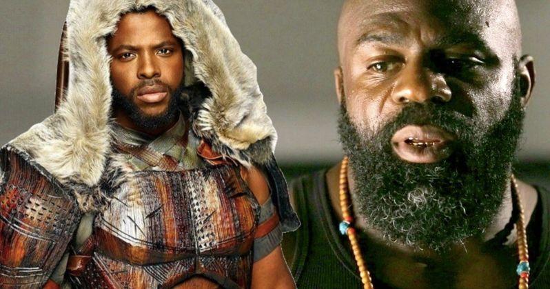 Black Panther Star Takes on Kimbo Slice Biopic Backyard Legend