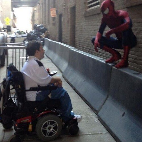 The Amazing Spider-Man 2 Shootout and Car Chase Set Videos
