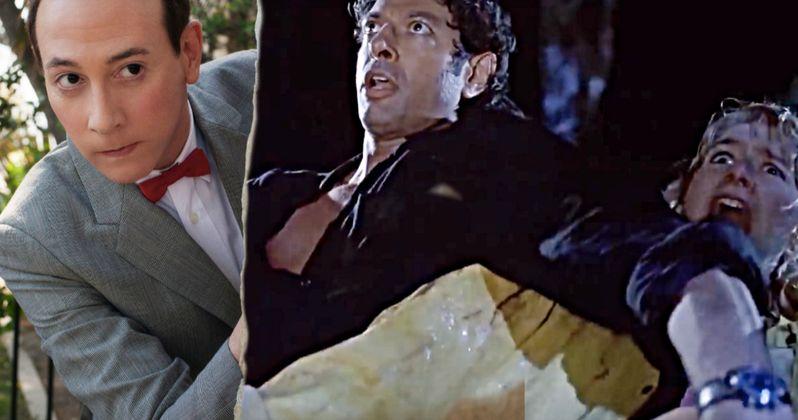 Pee-wee Herman Becomes the T-Rex in Jurassic Park Fan-Cut Video