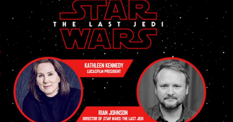 Watch the The Last Jedi Panel from Star Wars Celebration