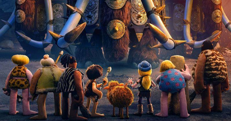 Aardman's Early Man Trailer Ushers in a New Age of Cavemen & Dinosaurs
