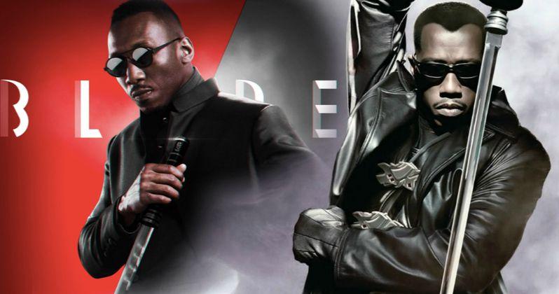 New Blade Star Mahershala Ali Salutes Original DayWalker Wesley Snipes