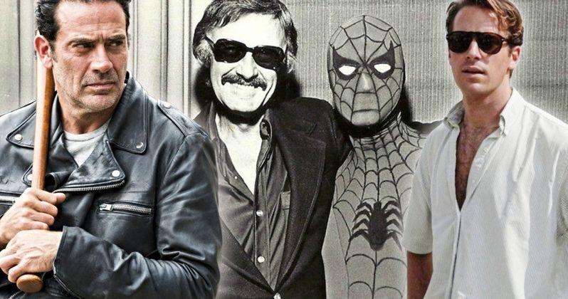 Jeffrey Dean Morgan Nails Armie Hammer for Bashing Stan Lee Celebrity Tributes