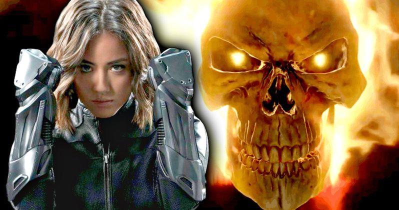 Ghost Rider Vs Quake in Agents of S.H.I.E.L.D. Season 4 Set Video