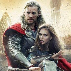 Thor: The Dark World Cast Interview with Chris Hemsworth and Natalie Portman