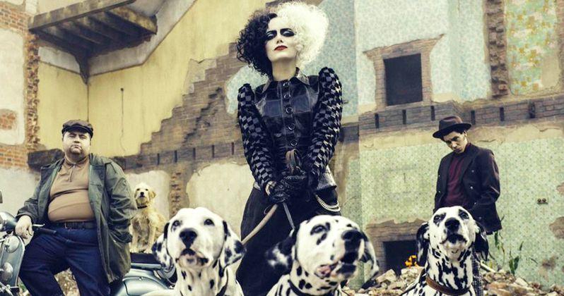 First Look at Emma Stone as Cruella in Disney's 101 Dalmatians Live-Action Prequel