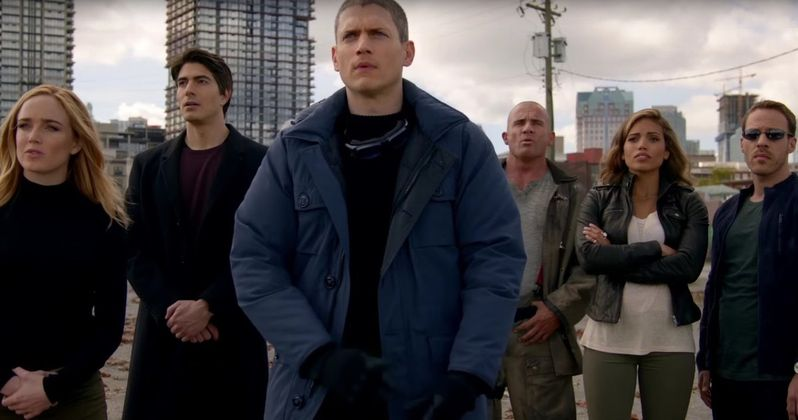 DC's Legends of Tomorrow Trailer: Rip Hunter Must Save the Future