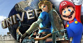 Mario & Zelda Nintendo Rides Are Coming to Universal Theme Parks