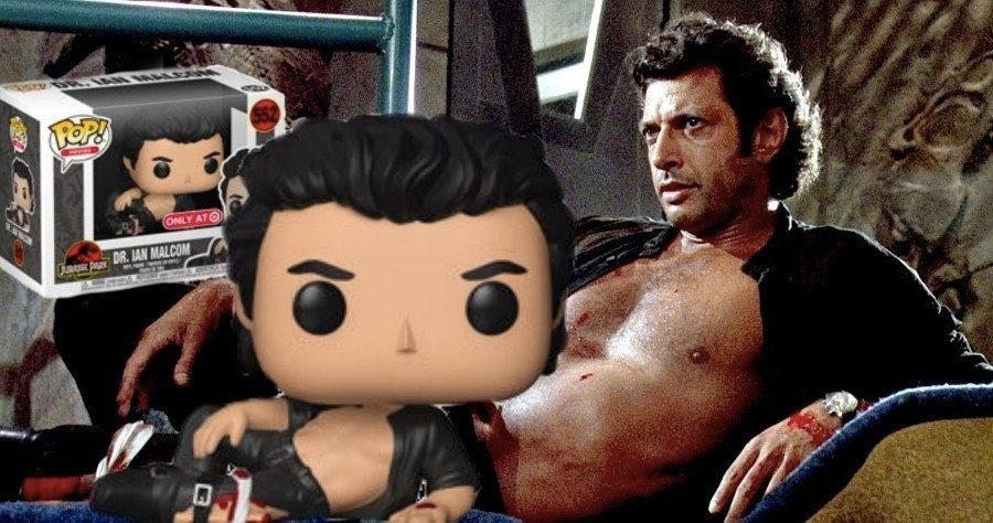 Shirtless Jeff Goldblum Gets A Jurassic Park Funko Pop Toy