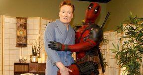 Deadpool: Ryan Reynolds Visits Conan in Costume