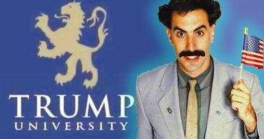 Borat Star Sacha Baron Cohen Is Making a Trump University Movie Next?