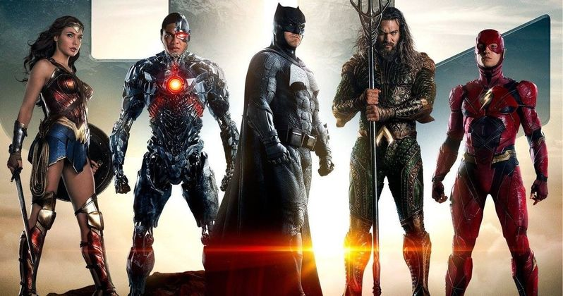 Justice League Poster Ushers in the Age of Heroes
