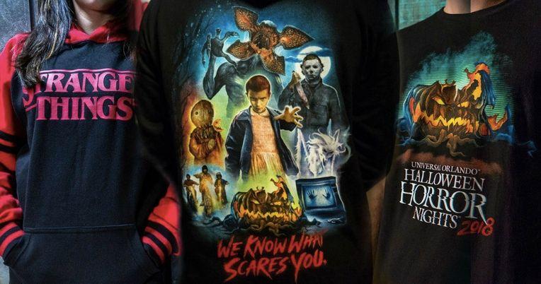 Halloween Horror Nights Unveils New Merchandise for 2018