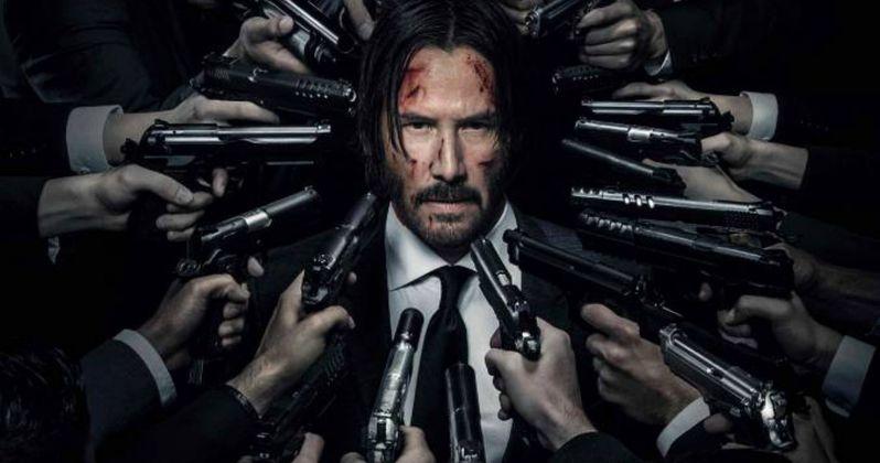 John Wick 2 NYCC Poster Takes Aim at Keanu Reeves