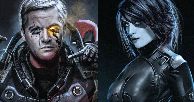 Here's What Cable & Domino May Look Like in Deadpool 2