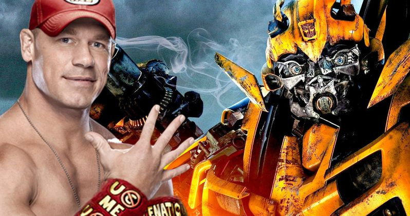 John Cena Takes The Lead In Bumblebee Movie As Shooting Begins