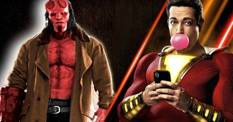 Can Hellboy Stop Shazam's Reign at the Box Office?