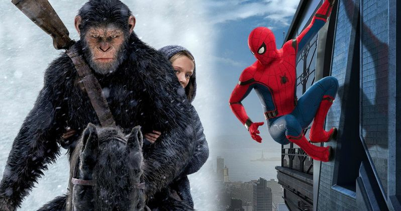 Planet of the Apes Knocks Out Spider-Man with $56.5M Box Office Win