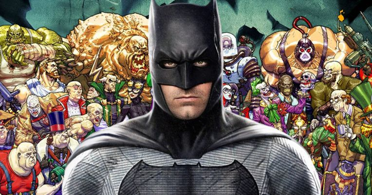 Affleck's Batman Movie Opens with an Epic Arkham Prison Break?