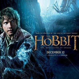 The Hobbit: The Desolation of Smaug Bilbo Baggins Character Banner