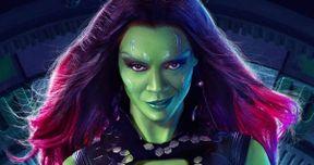 Zoe Saldana Shares New Guardians of the Galaxy 2 Set Video & Photos
