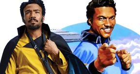 Original Lando Billy Dee Williams Loves Solo