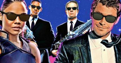 Men in Black Reboot Reunites Thor Stars Tessa Thompson & Chris Hemsworth