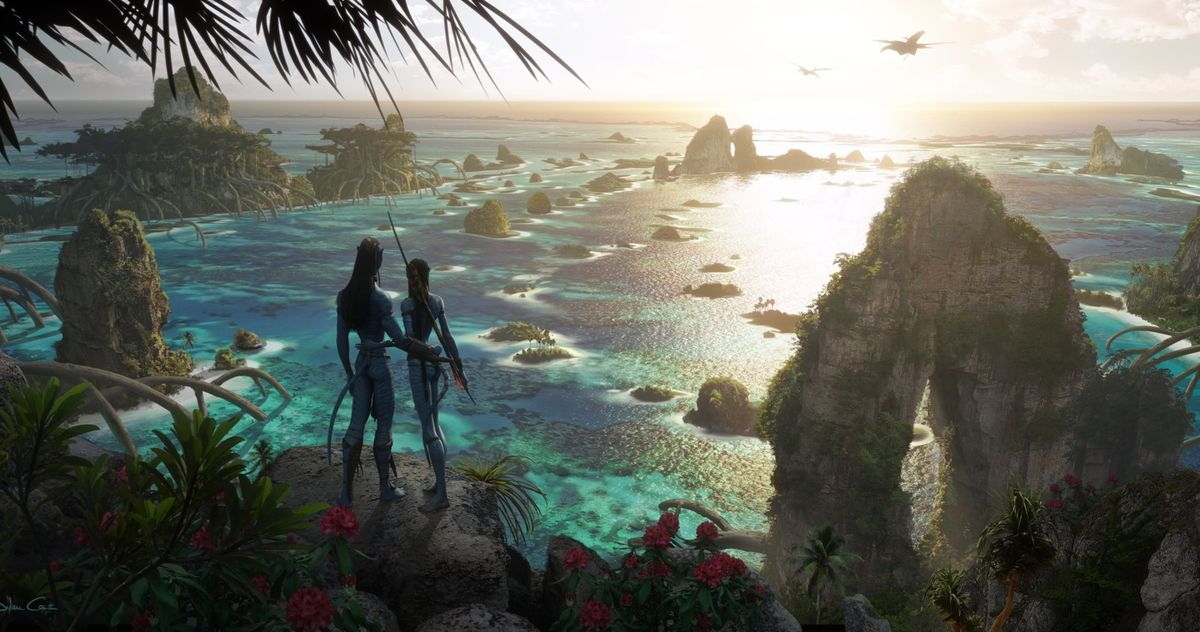Avatar 2 Concept Art Reveals New Creatures and a Tropical Pandora Setting